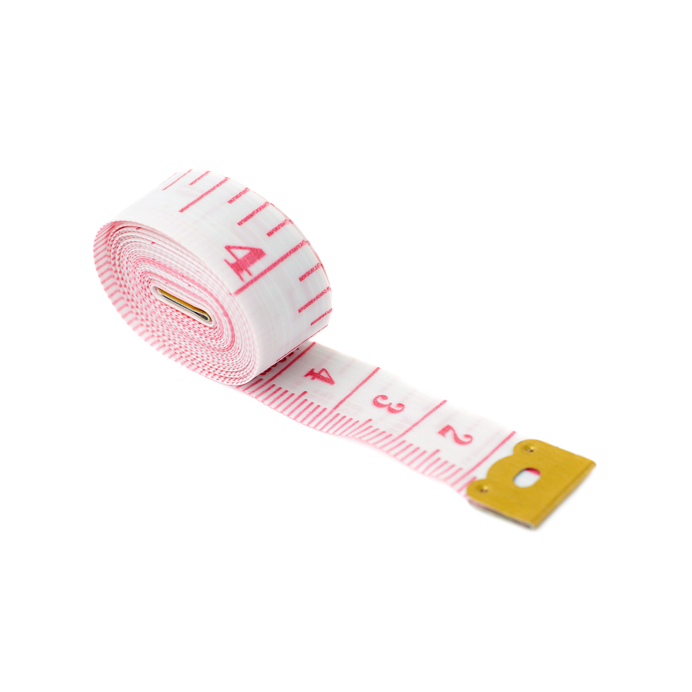 a 4-inch tape measure used to measure penis length