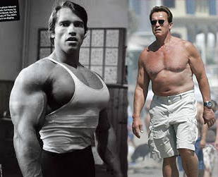 arnold then and now