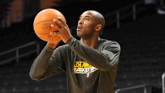 Kobe Bryant is committed to the sport