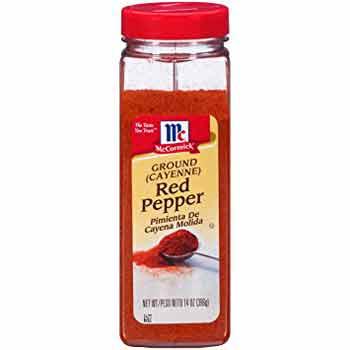 Cayenne pepper shaker