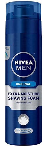 Nivea alcohol-free shaving cream