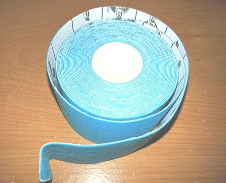 a sample of kinesiology tape.
