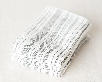 a sample of a washcloth used for a traction wrap.